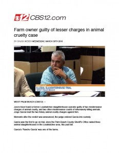 animal abuser in jail