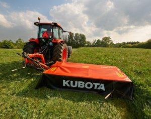 Kubota Mower Donation