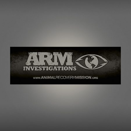Animal Recovery Mission Support Sticker