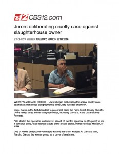 animal abuser found guilty