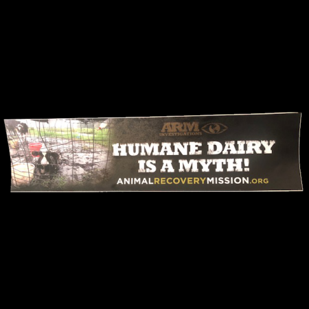 ARM Humane Dairy Sticker